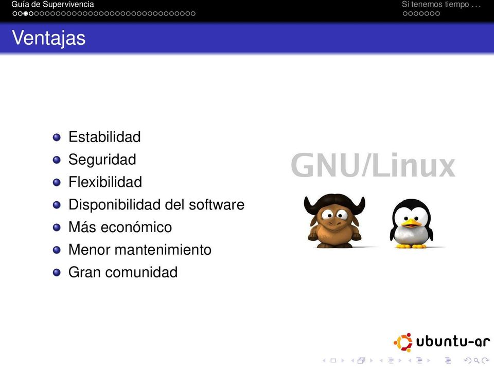 Disponibilidad del software