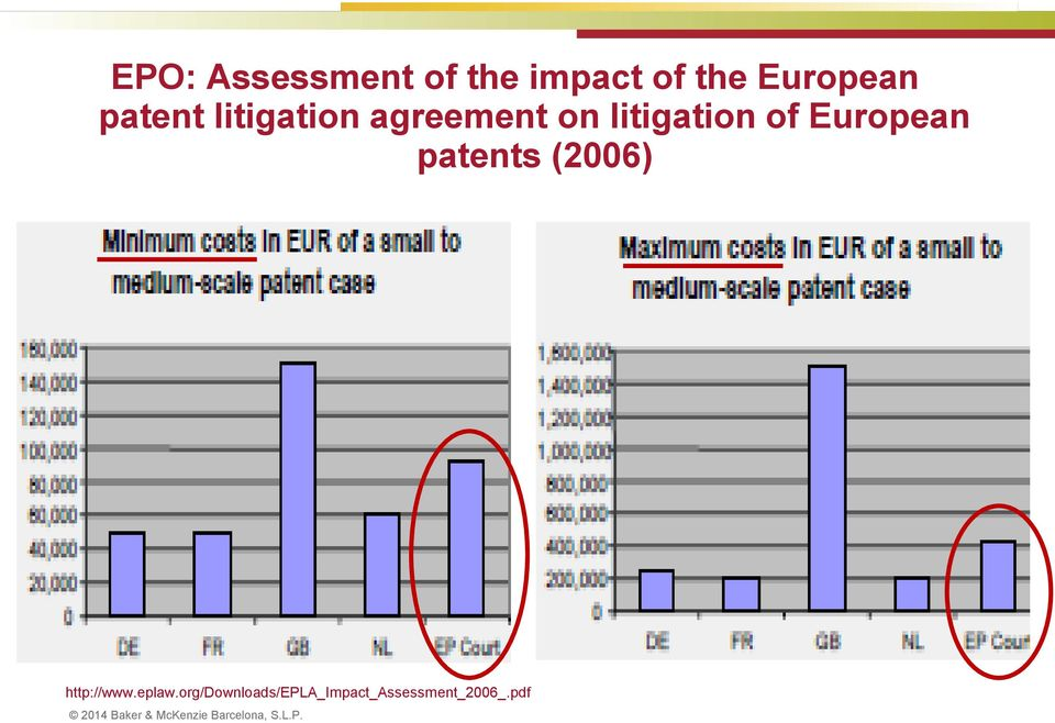 litigation of European patents (2006)