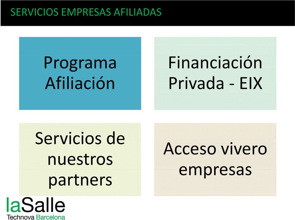 Financiación Privada EIX