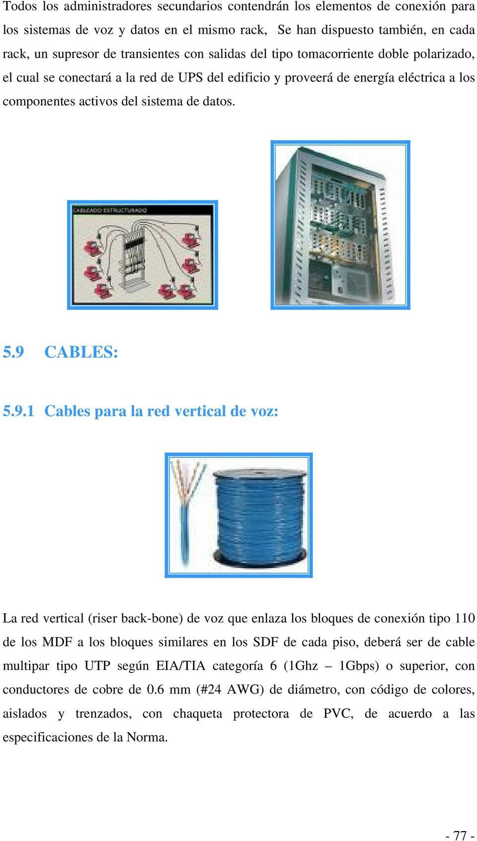 CABLES: 5.9.