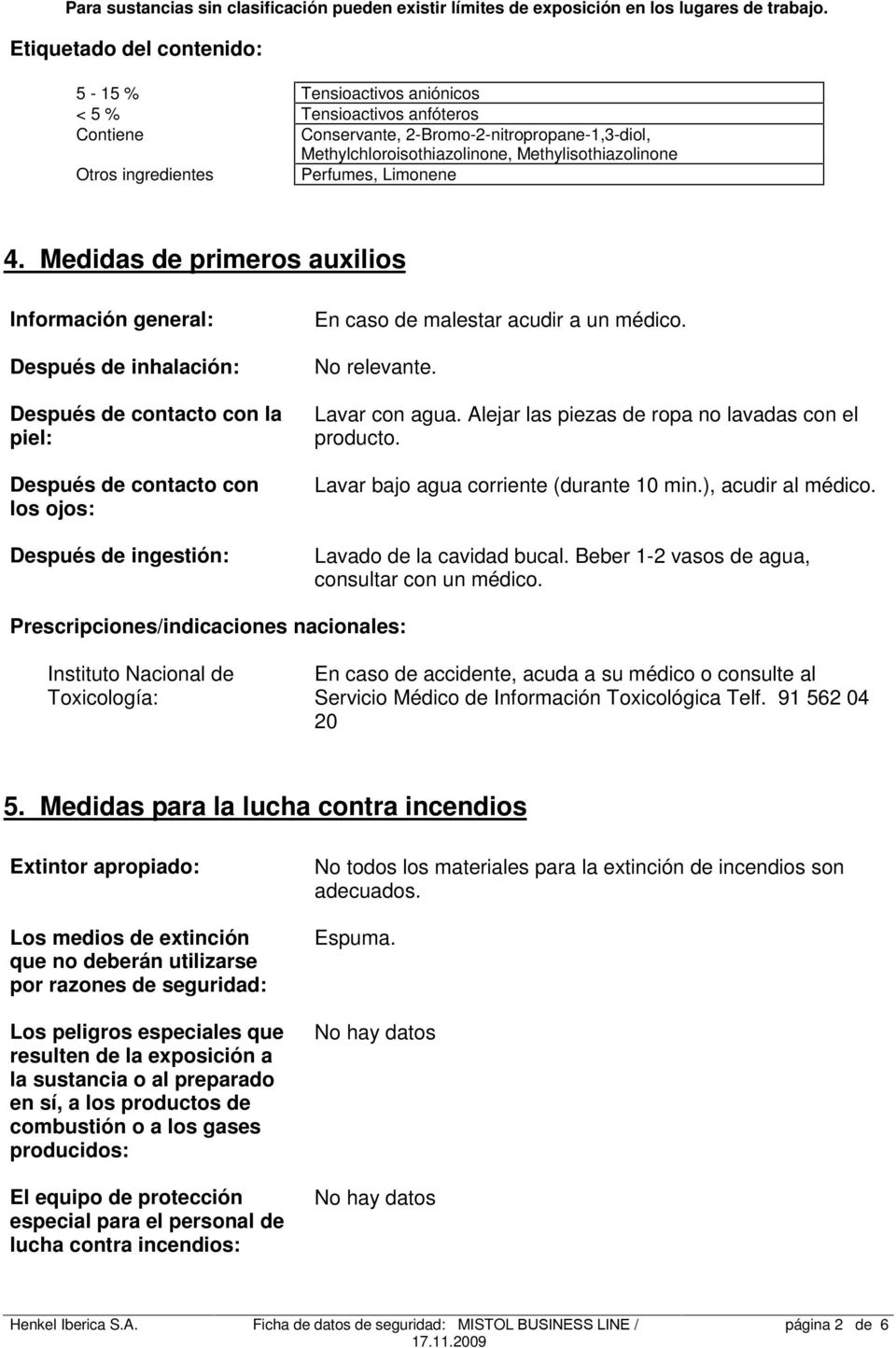 ingredientes Perfumes, Limonene 4.