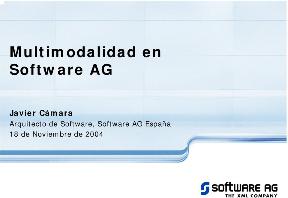 de Software, Software AG