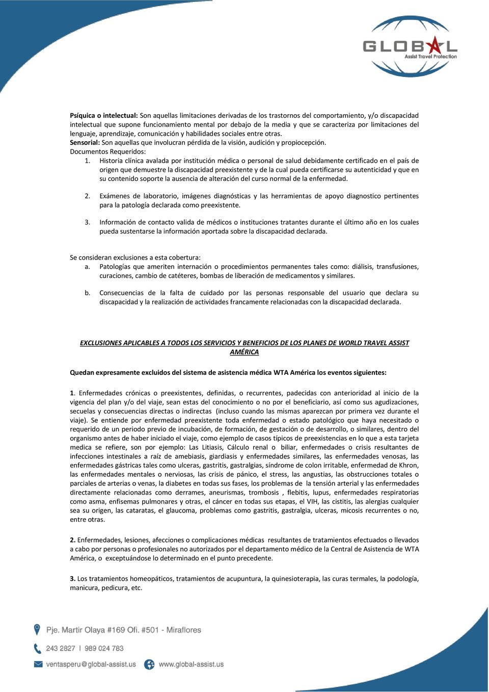 Documentos Requeridos: 1.