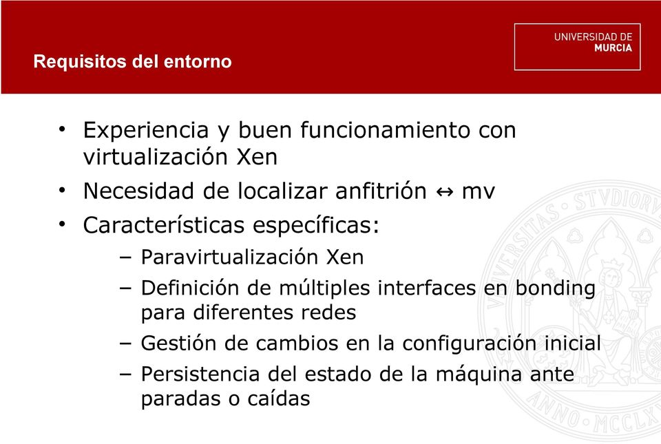 Xen Definición de múltiples interfaces en bonding para diferentes redes Gestión de