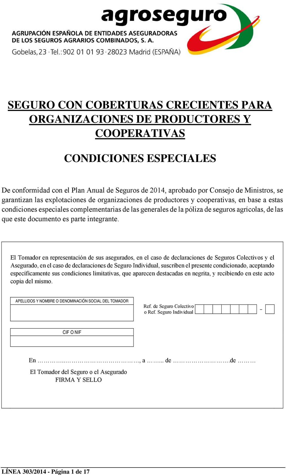 este documento es parte integrante.