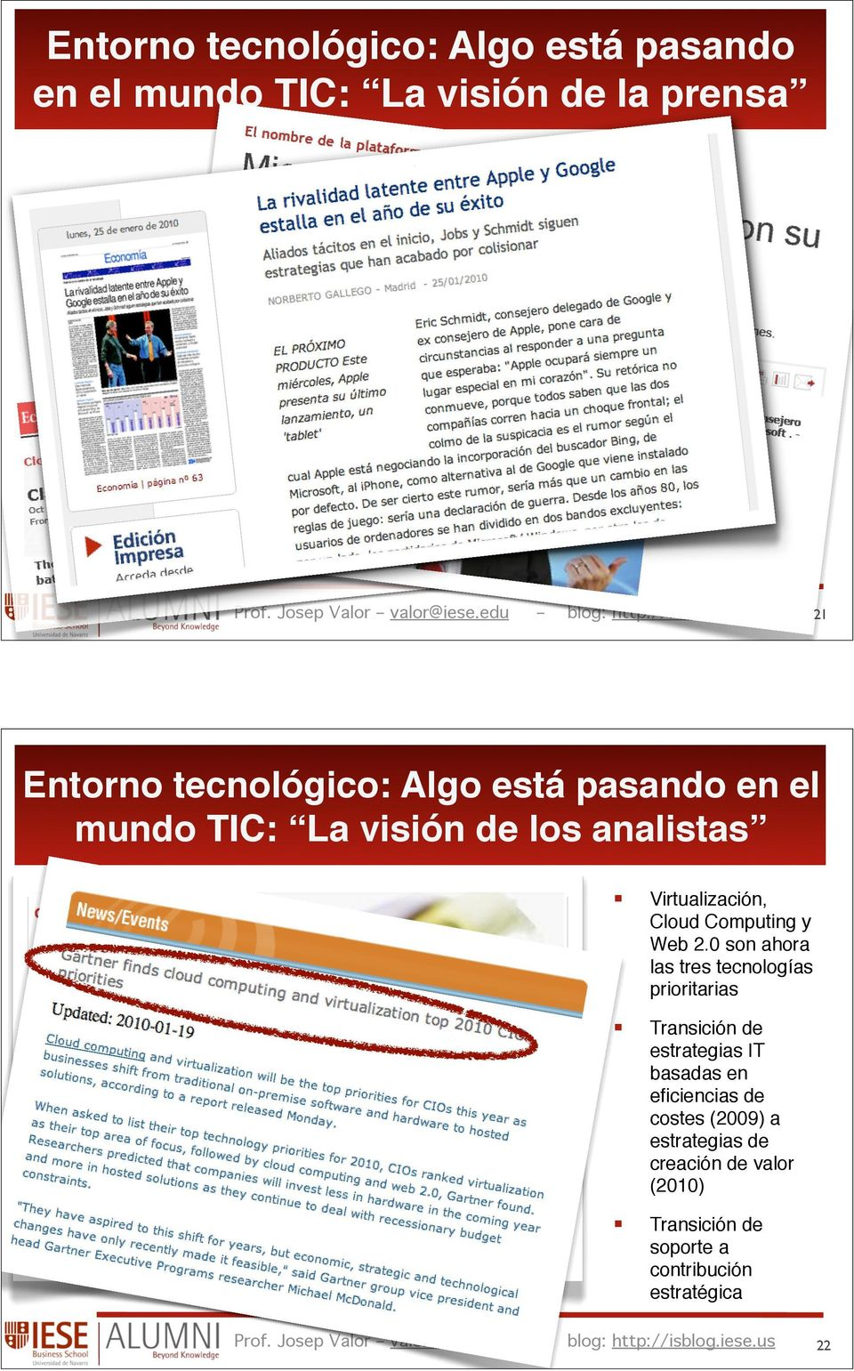 edu Virtualización, Cloud Computing y Web 2.