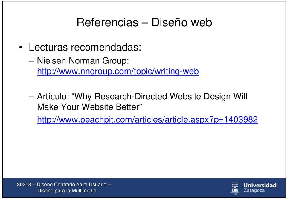 com/topic/writing-web Artículo: Why Research-Directed