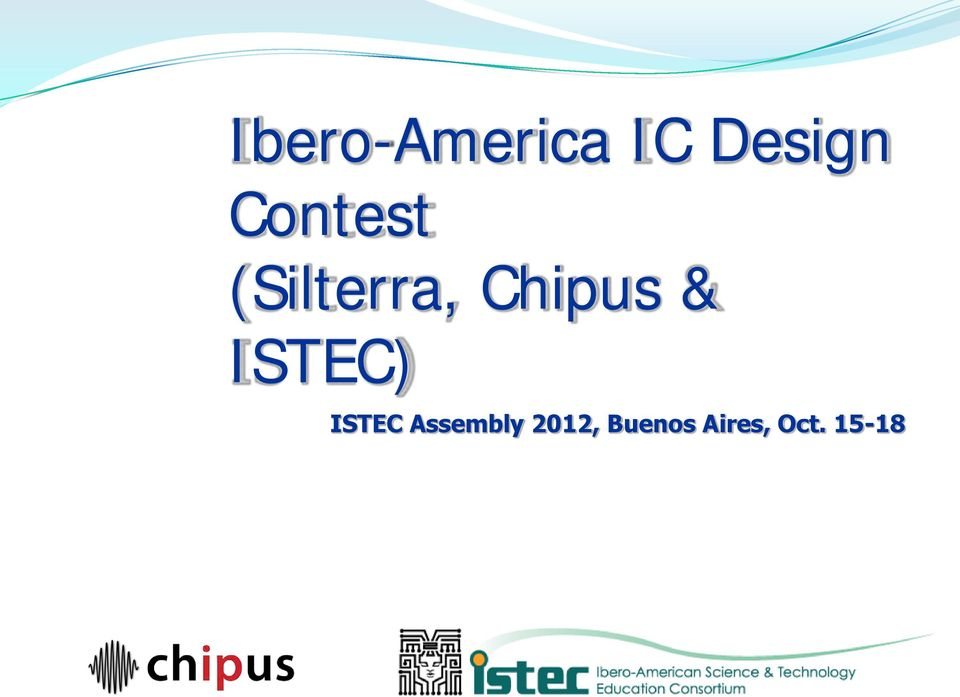& ISTEC) ISTEC Assembly