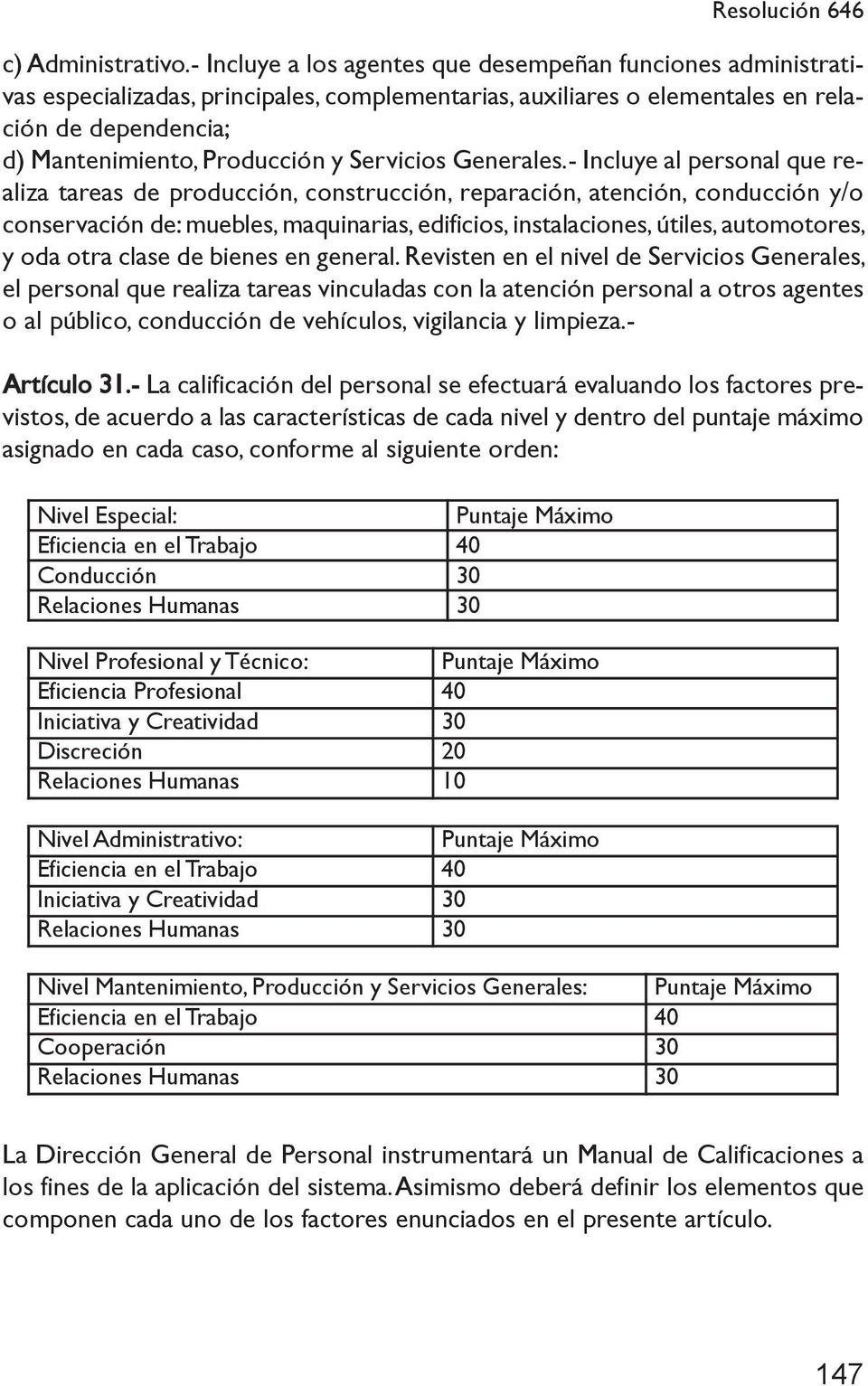 Texto modificado del decreto n 646 1 del 20 04 198 3 con for Manual de fabricacion de muebles de melamina en pdf