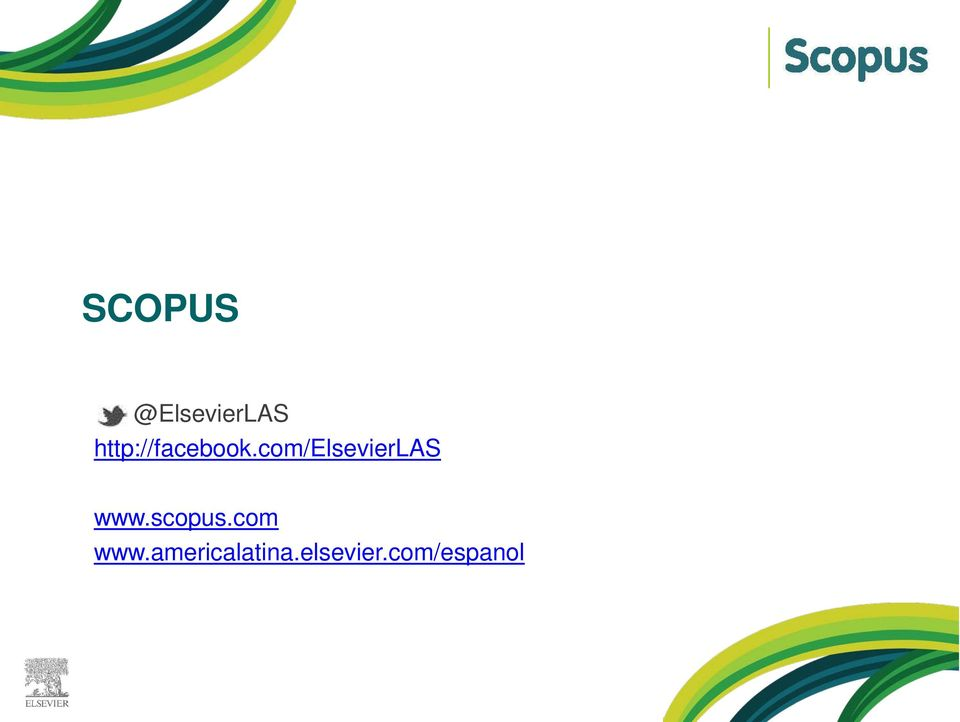 com/elsevierlas www.scopus.