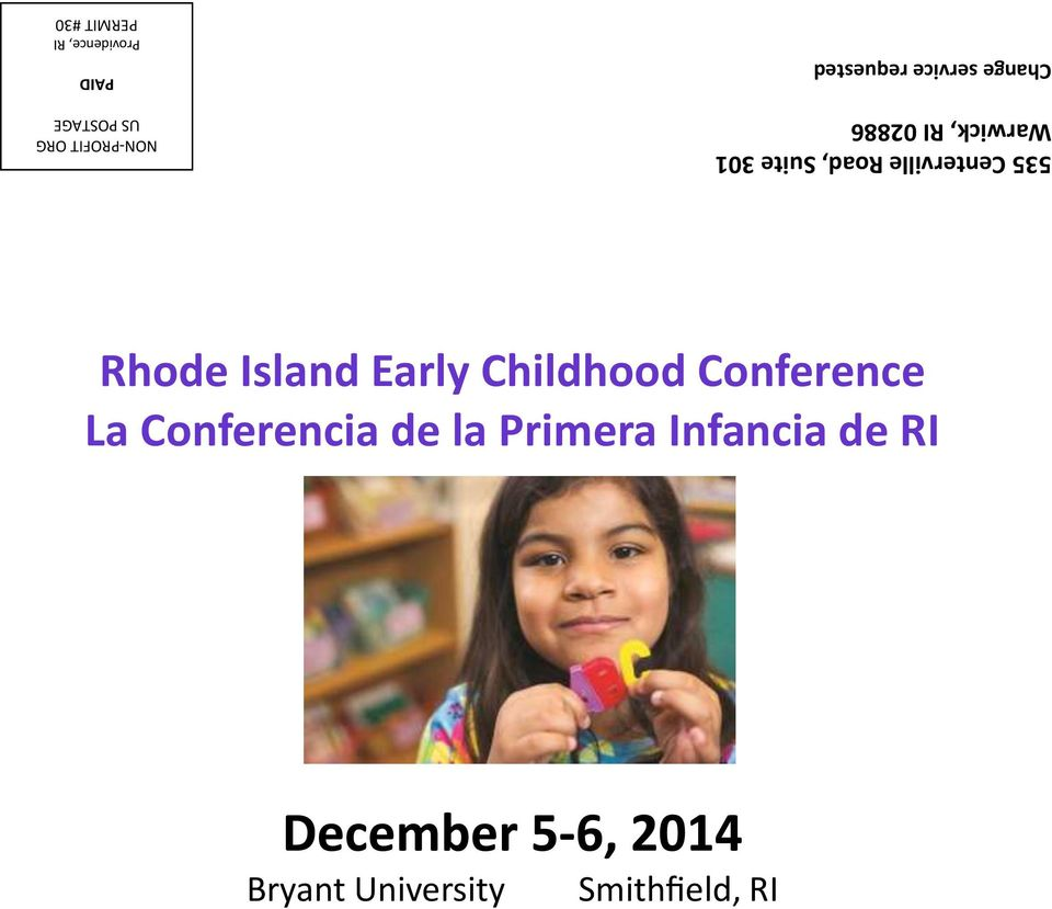 requested Rhode Island Early Childhood Conference La
