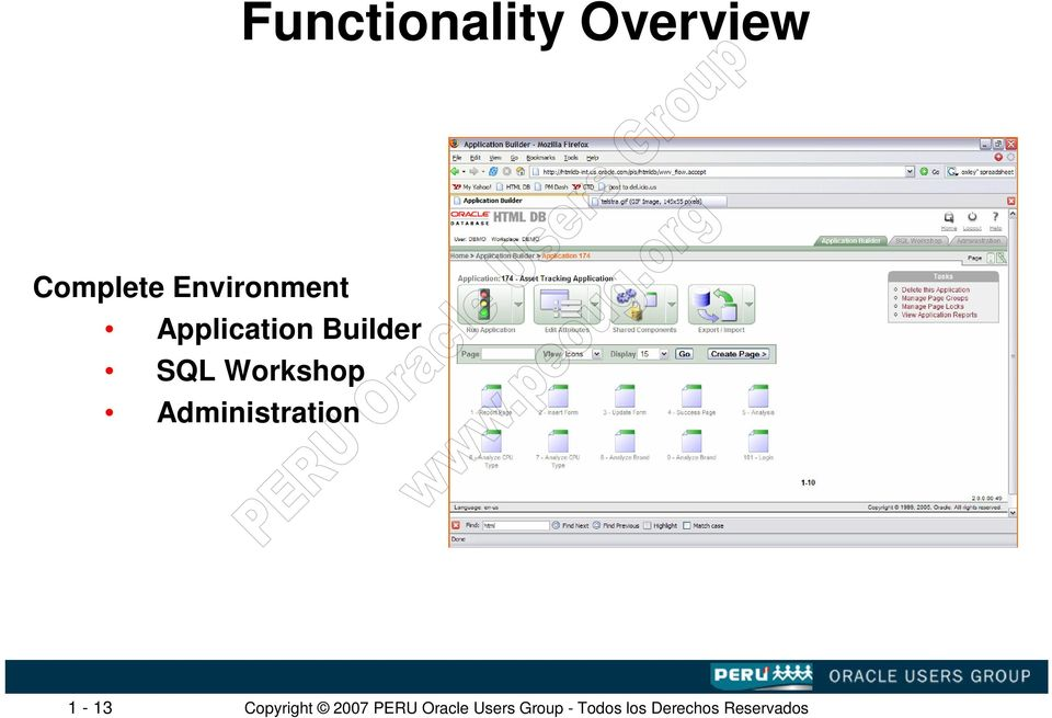 Application Builder SQL