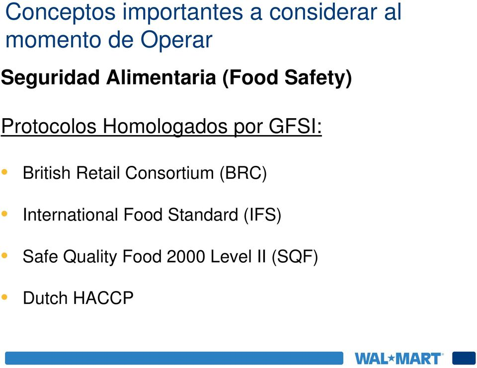 por GFSI: British Retail Consortium (BRC) International