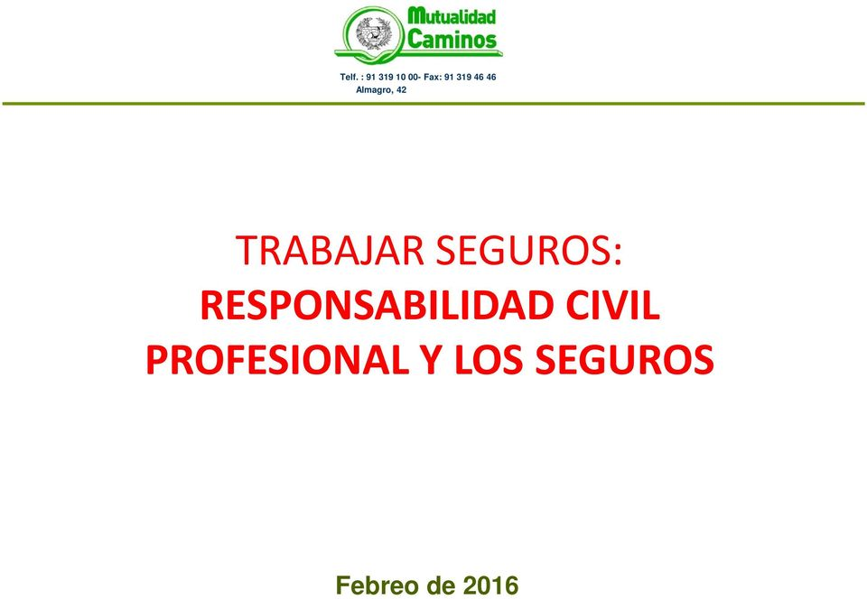 CIVIL PROFESIONAL Y
