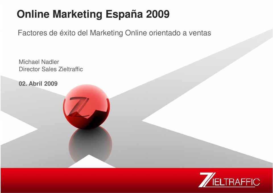 Marketing Online orientado a ventas Michael Nadler Michael Nadler