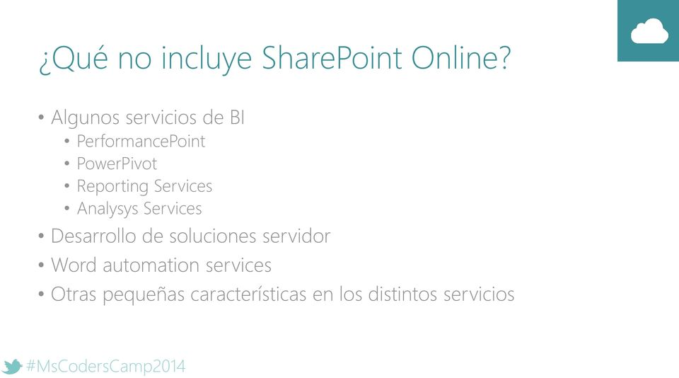Reporting Services Analysys Services Desarrollo de
