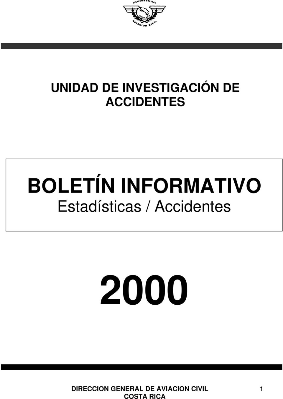 ACCIDENTES BOLETÍN