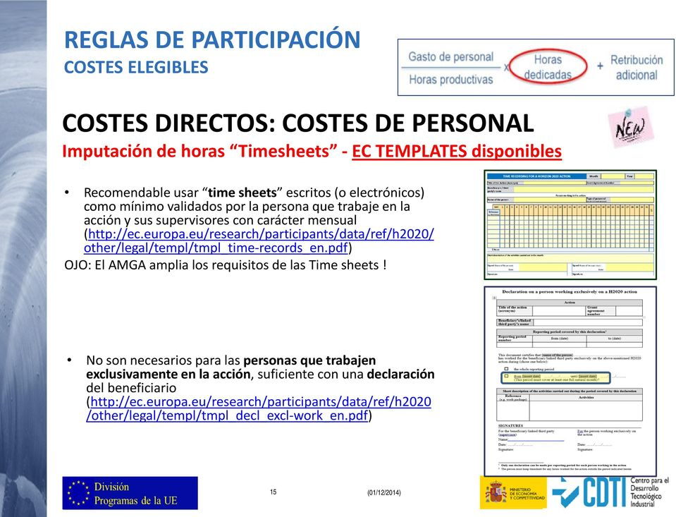 eu/research/participants/data/ref/h2020/ other/legal/templ/tmpl_time-records_en.pdf) OJO: El AMGA amplia los requisitos de las Time sheets!