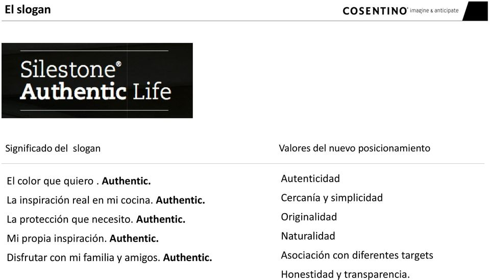 Authentic. Disfrutar con mi familia y amigos. Authentic.