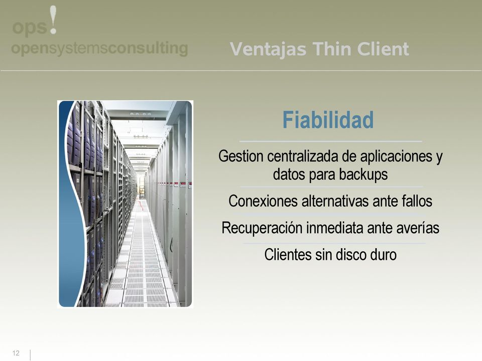 backups Conexiones alternativas ante fallos
