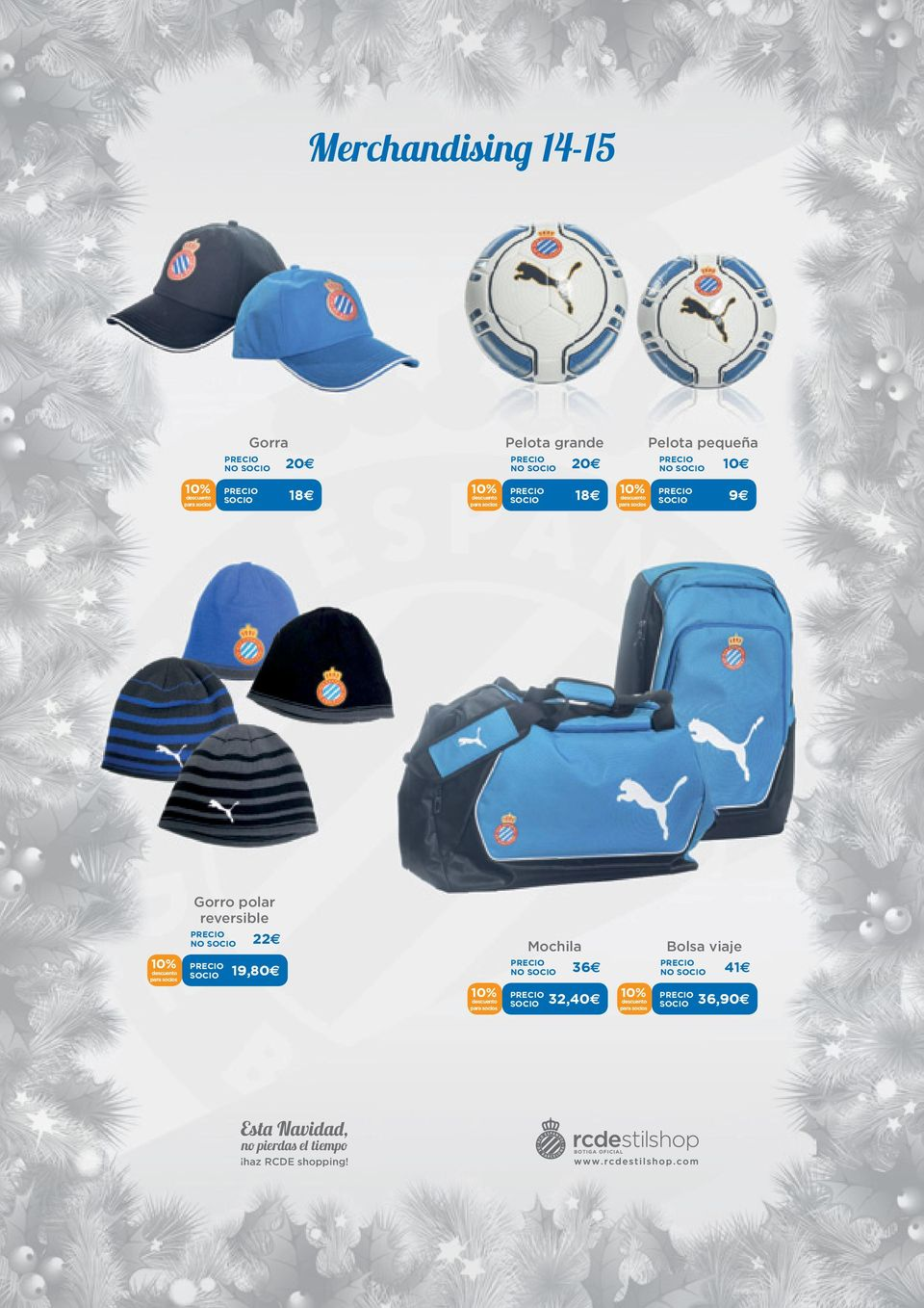 Gorro polar reversible 22 19,80