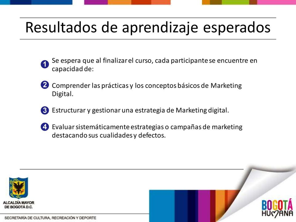 básicos de Marketing Digital. Estructurar y gestionar una estrategia de Marketing digital.