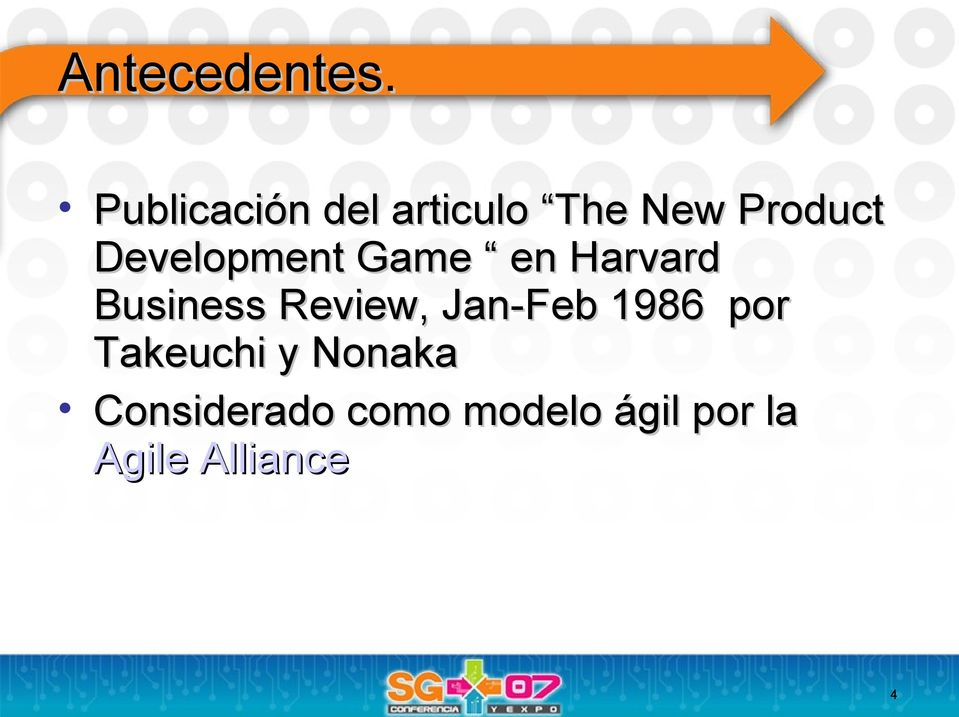 Development Game en Harvard Business Review,