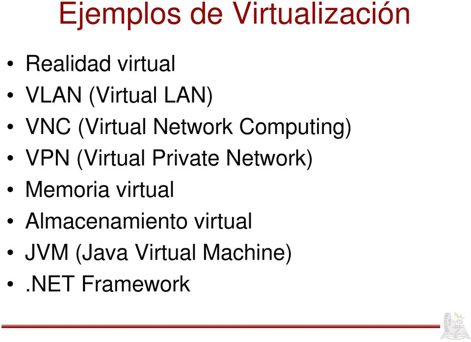 (Virtual Private Network) Memoria virtual
