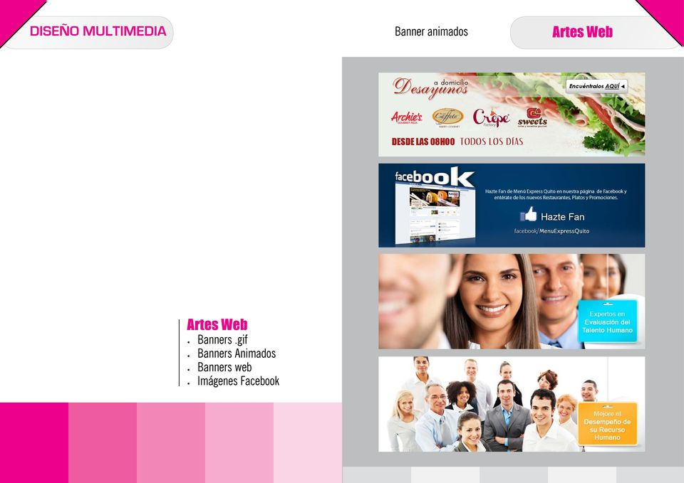 Web Banners.