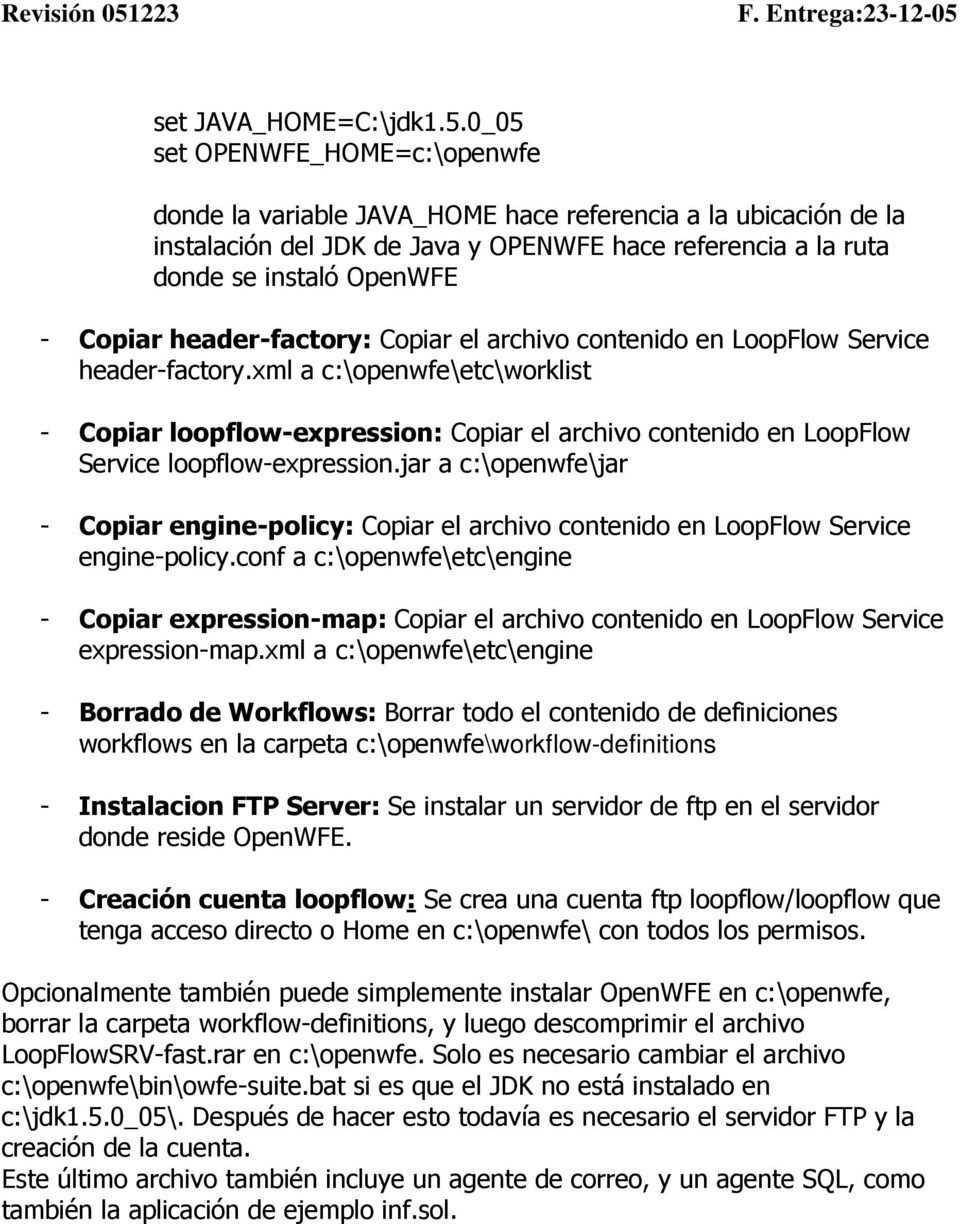 header-factory: Copiar el archivo contenido en LoopFlow Service header-factory.
