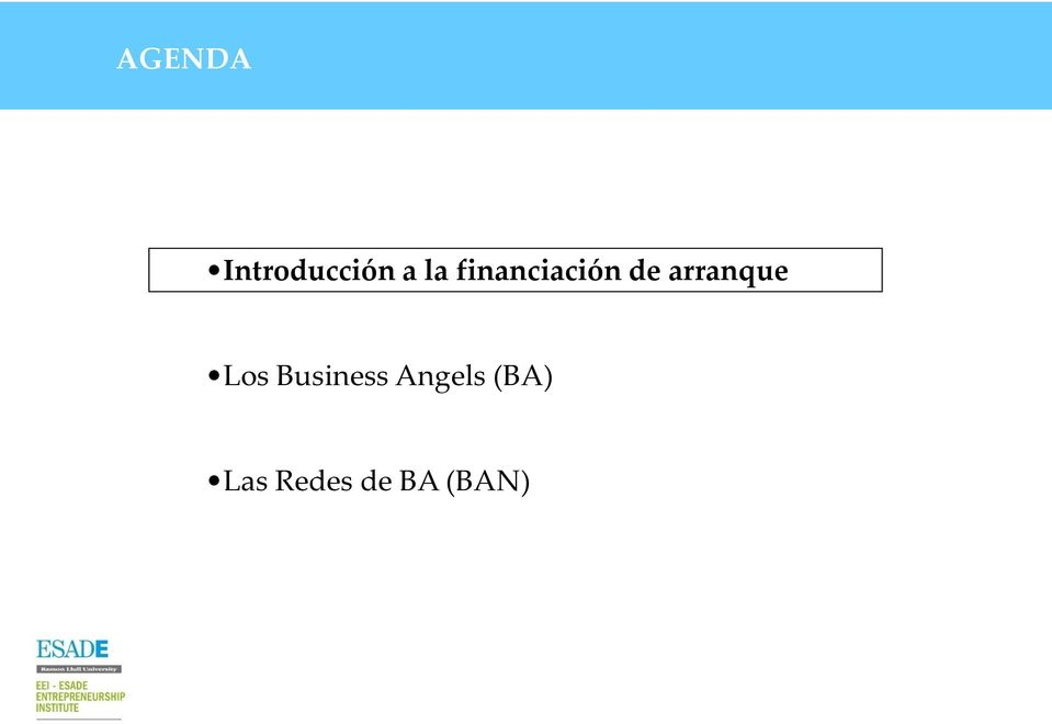 arranque Los Business