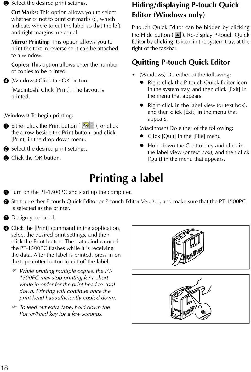 Mirror Printing: This option allows you to print the text in reverse so it can be attached to a window. Copies: This option allows enter the number of copies to be printed.