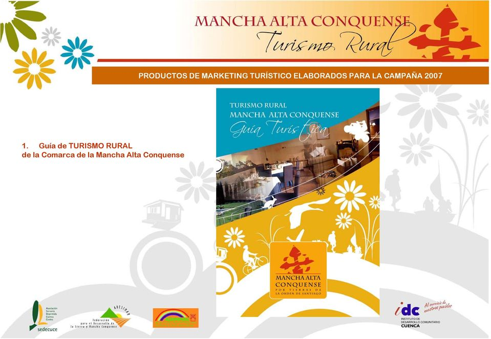 Conquense PRODUCTOS DE MARKETING