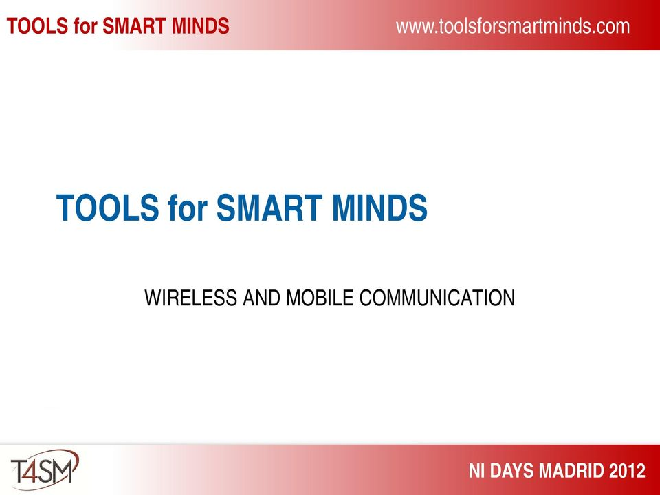 com TOOLS for SMART MINDS