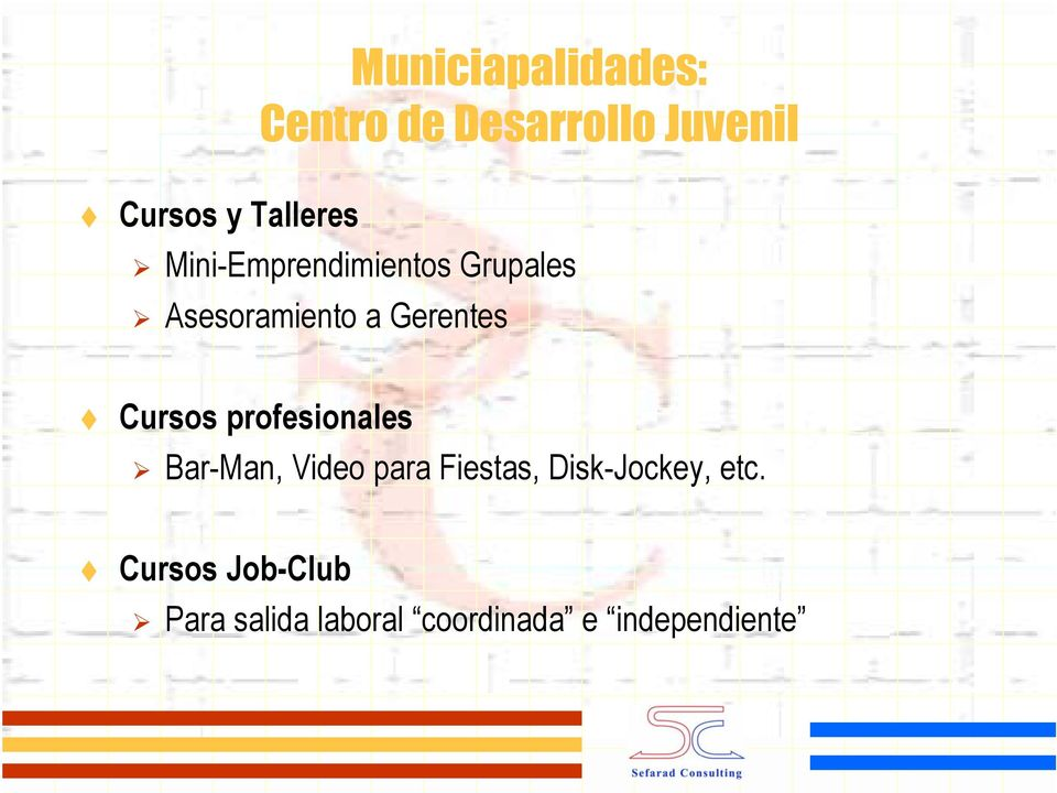Gerentes Cursos profesionales Bar-Man, Video para Fiestas,
