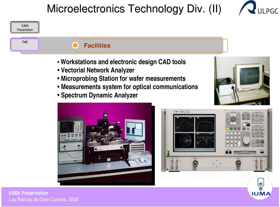 tools Vectorial Network Analyzer Microprobing Station for