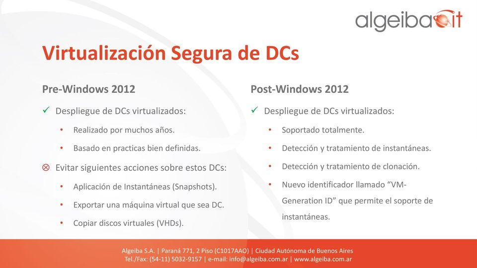 Exportar una máquina virtual que sea DC. Copiar discos virtuales (VHDs).