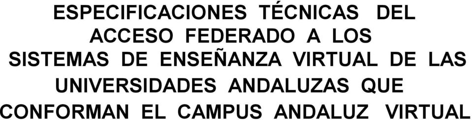 VIRTUAL DE LAS UNIVERSIDADES