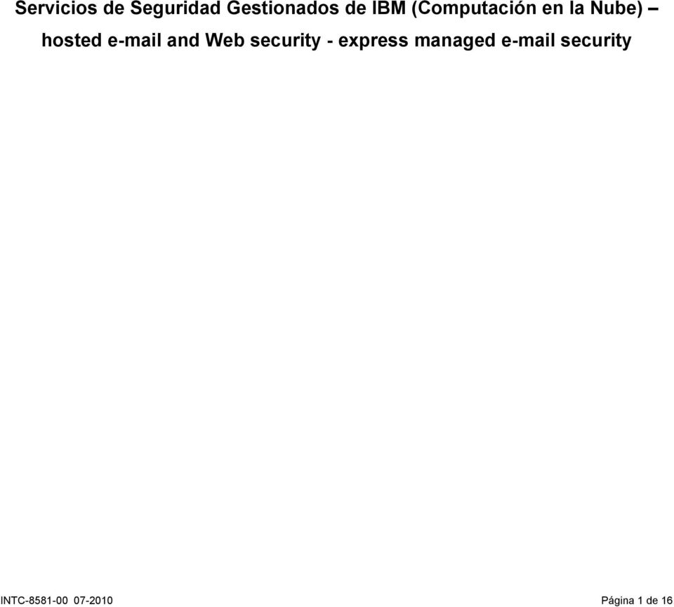 and Web security - express managed e-mail