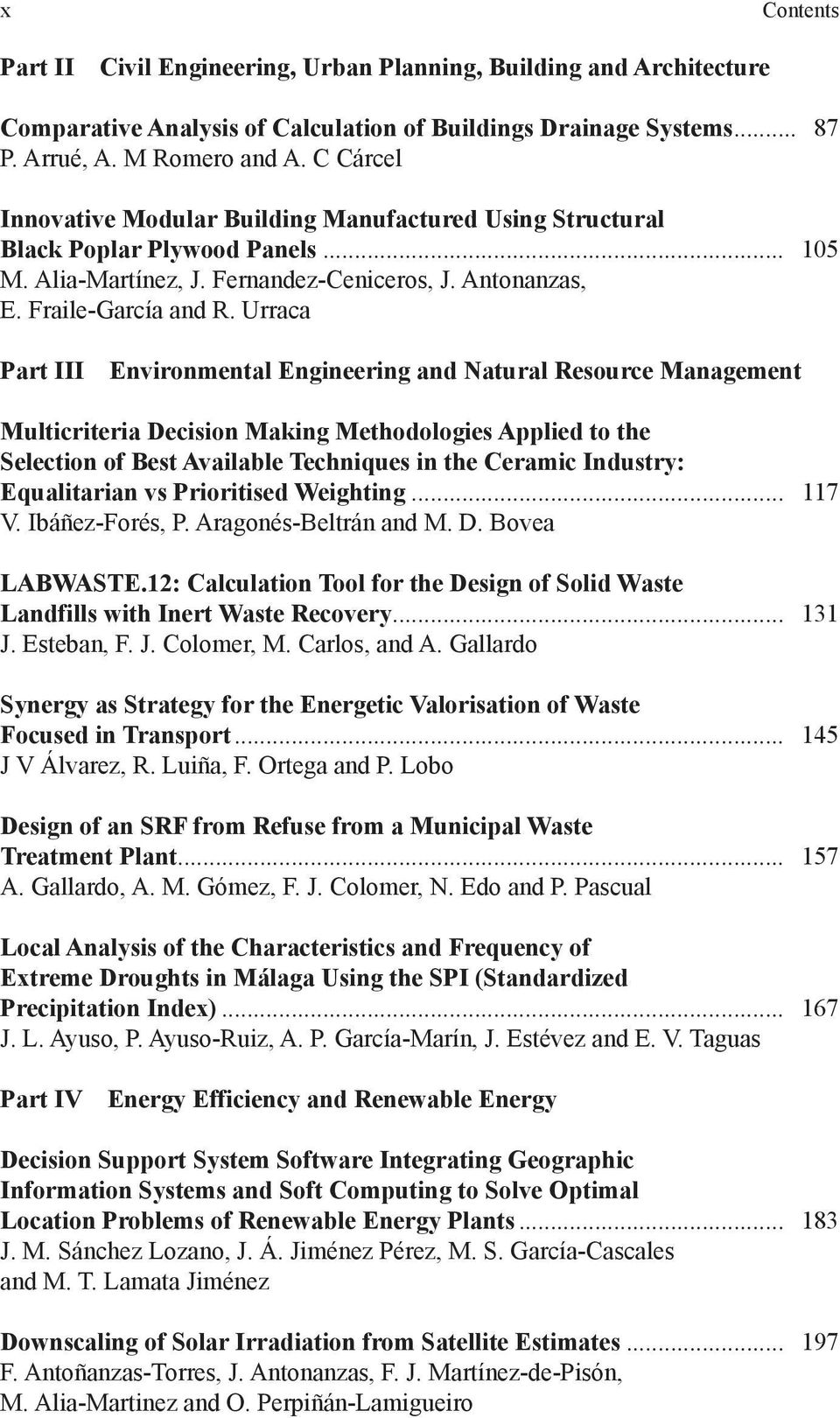 Urraca Part III Environmental Engineering and Natural Resource Management Multicriteria Decision Making Methodologies Applied to the Selection of Best Available Techniques in the Ceramic Industry: