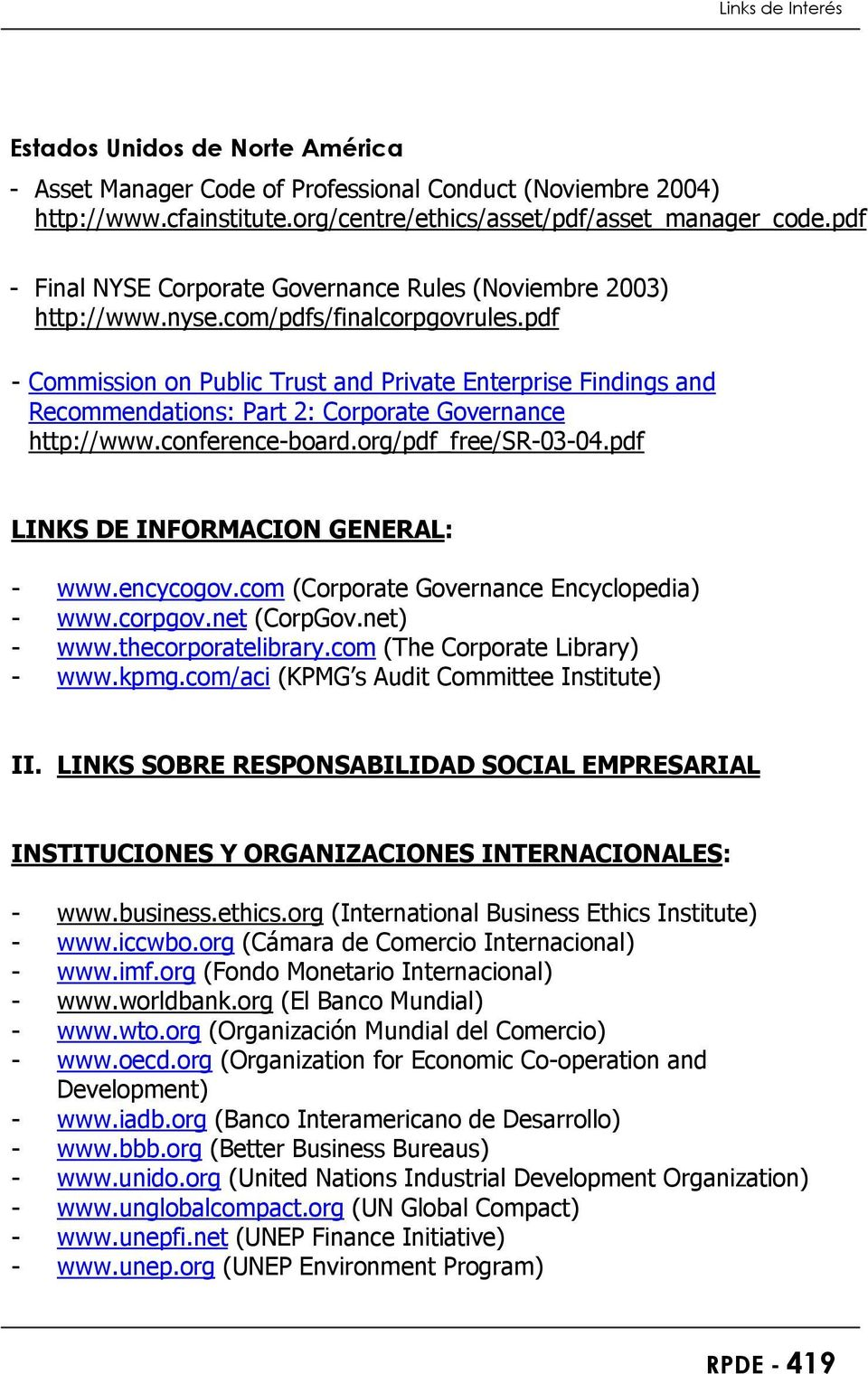 pdf - Commission on Public Trust and Private Enterprise Findings and Recommendations: Part 2: Corporate Governance http://www.conference-board.org/pdf_free/sr-03-04.