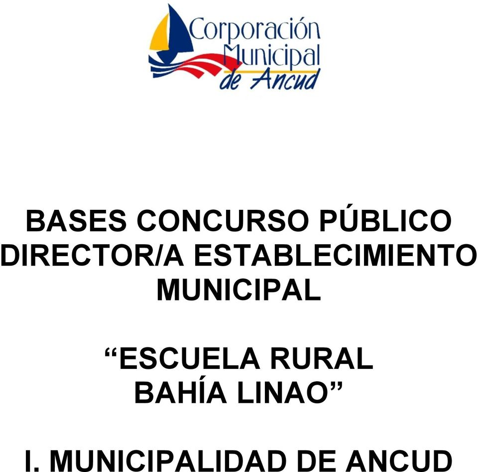 MUNICIPAL ESCUELA RURAL