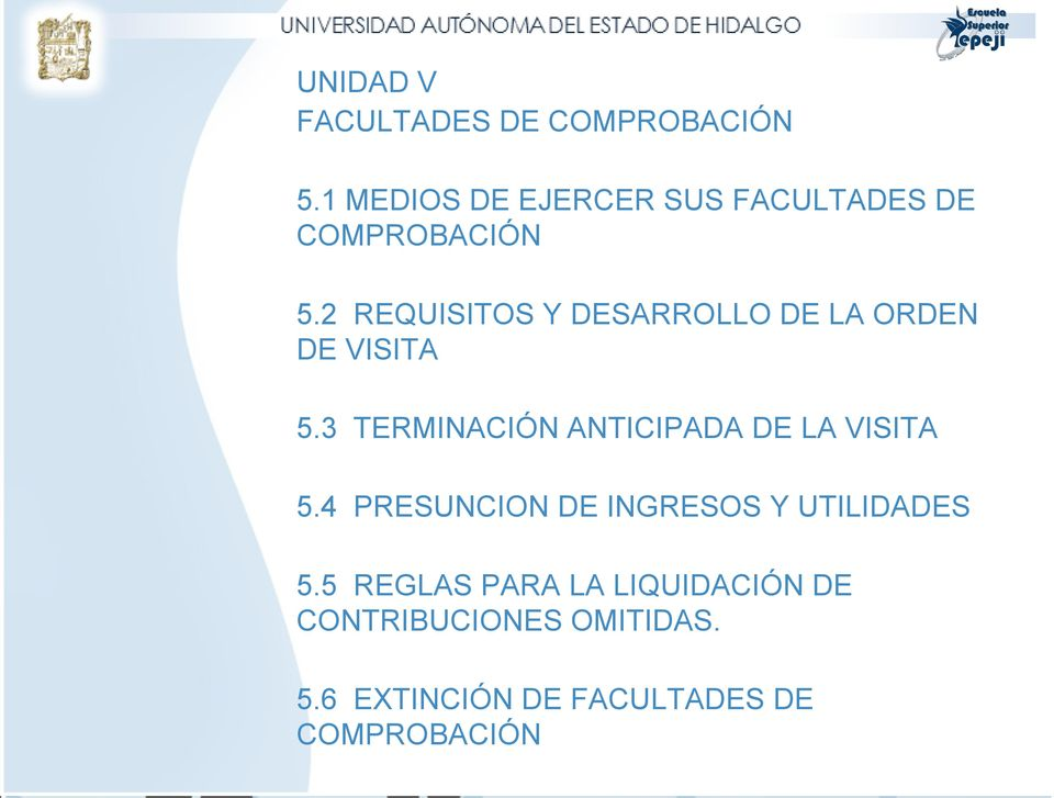 2 REQUISITOS Y DESARROLLO DE LA ORDEN DE VISITA 5.