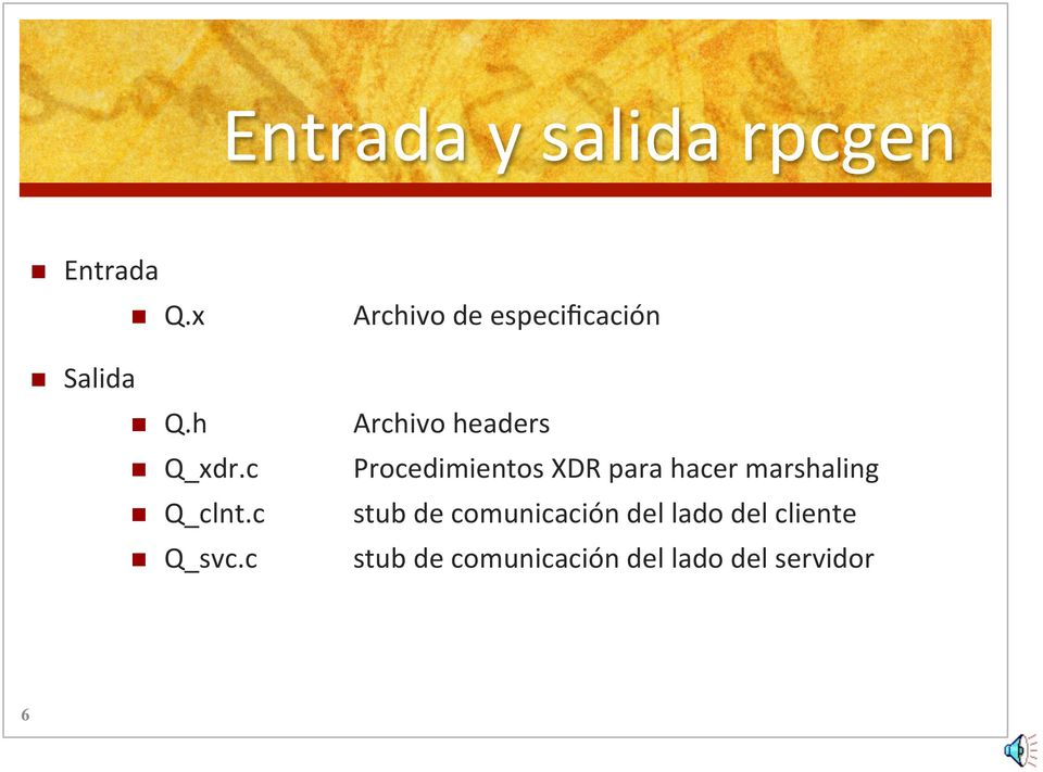 h Archivo headers n Q_xdr.