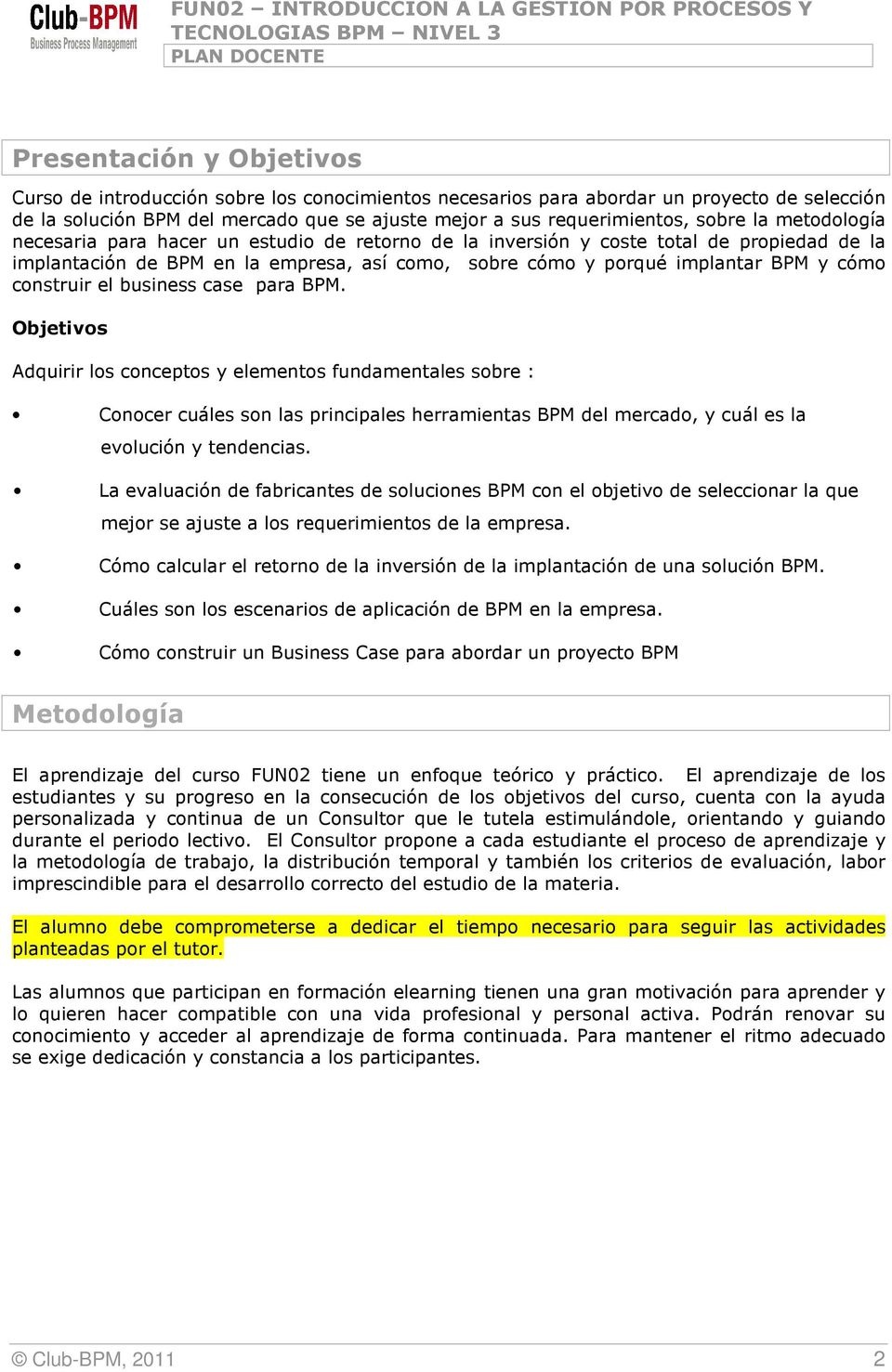 construir el business case para BPM.