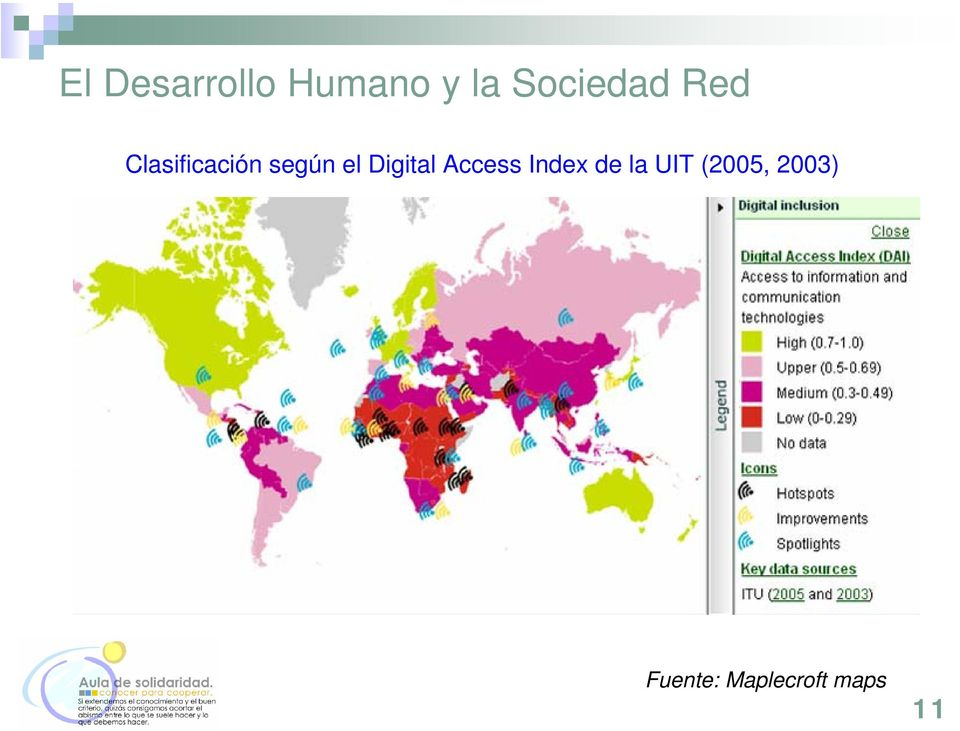 el Digital Access Index de la