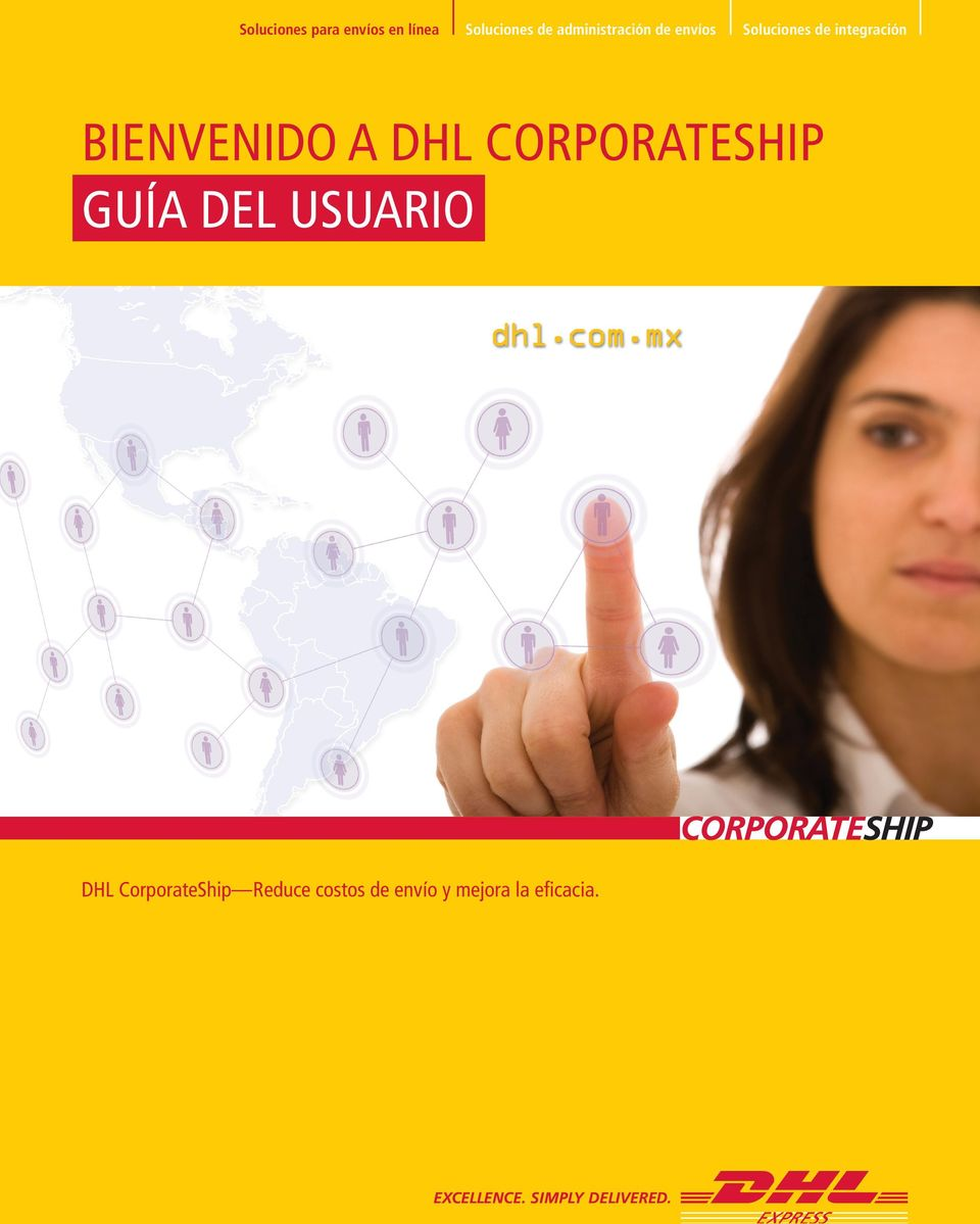 del Usuario DHL CorporateShip