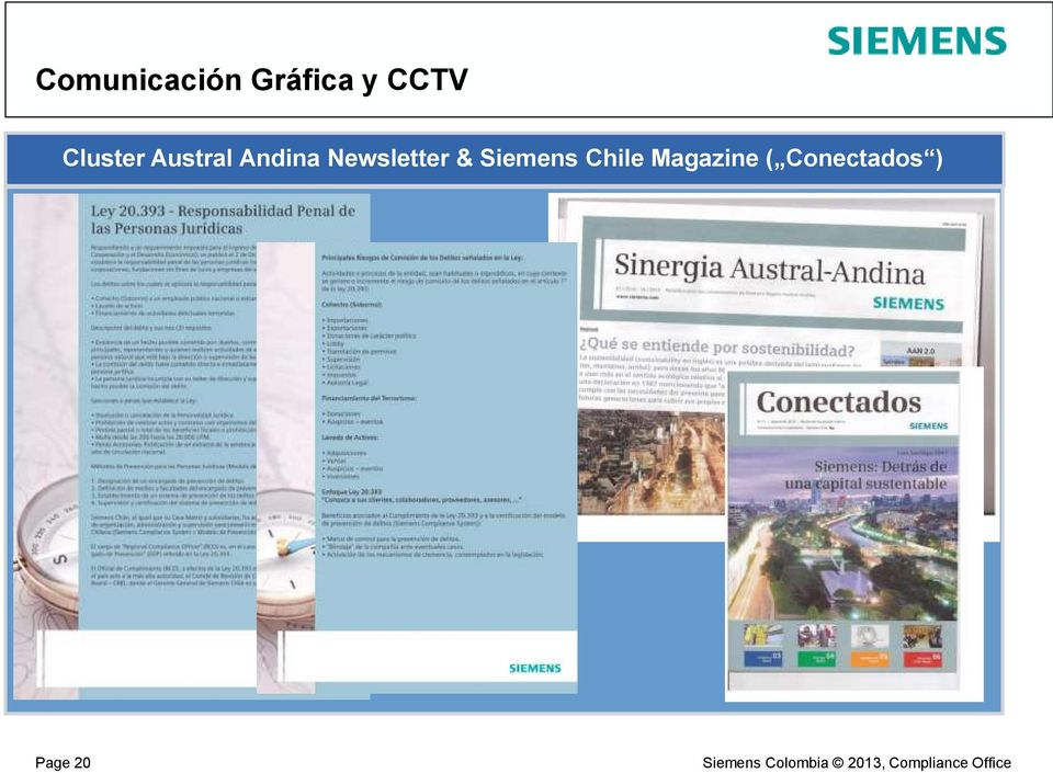 Newsletter & Siemens Chile