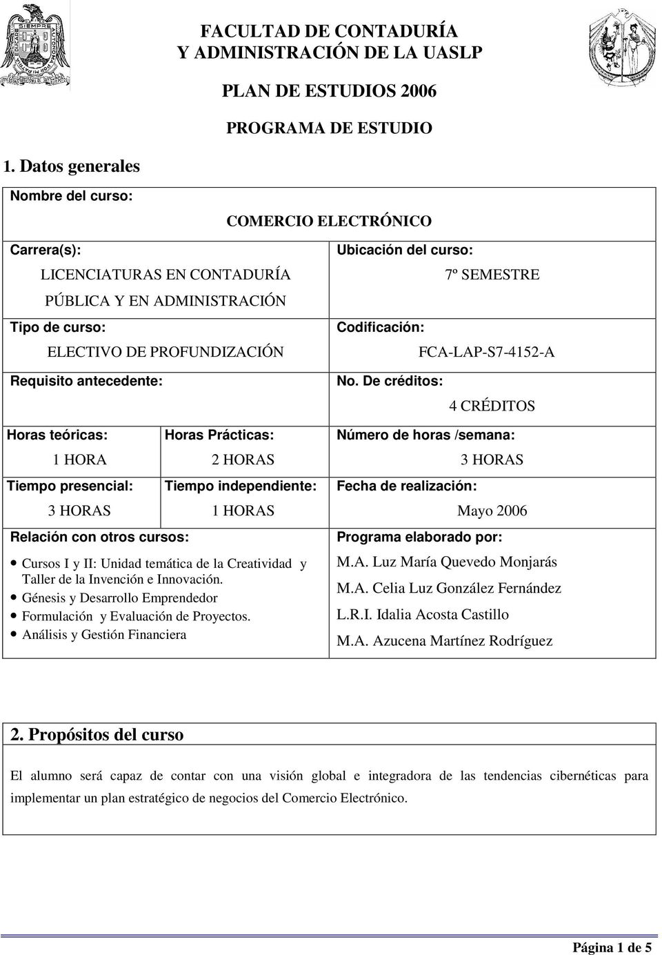 Codificación: FCA-LAP-S7-4152-A Requisito antecedente: No.