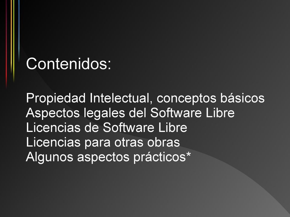 Software Libre Licencias de Software Libre